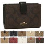 コーチ COACH 財布 アウトレット F23553 シグネチャー ミディアム コーナー ジップ ウォレット 二つ折り財布