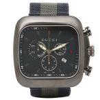 【5%オフクーポン対象】 グッチ 腕時計 GUCCI YA131203 ブルー/グレー