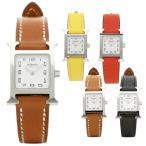 【返品OK】エルメス 腕時計 レディース HERMES Hウォッチ ミニ TPM 17.2×17.2 シルバー