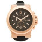 ショッピングマイケル マイケルコース 腕時計 メンズ MICHAEL KORS MK8184 ブラック ピンクゴールド