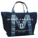 ショッピングJACOBS マークジェイコブス トートバッグ MARC JACOBS M0011123 423 デニム ブルー 【10%オフ対象】