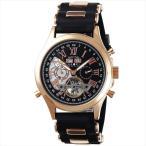 ゾンネ 腕時計 SONNE H003PGBK ブラック ゴールド