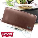 ショッピング牛革 リーバイス Levi's ラウンドファスナー長財布 財布 サイフ メンズ  11128203
