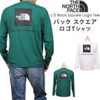 THE NORTH FACE ザ ノースフェイス L/S Back Square Logo Tee ロングスリーブ バック スクエア ロゴTシャツ NT82035