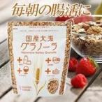 国産大麦グラノーラ200g【腸活/腸内フローラ/便秘/九州の大麦/スーパー大麦グラノーラ】