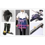 コスプレ衣装+ウイッグ+靴+草薙の剣 NARUTO -ナルト- うちはサスケ★うずまきナルト 春野サクラ 変装/道具/武器/仮装/豪華/華麗/高品質