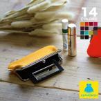 鏡付きがま口リップケース 帆布・無地 |ミラー付き キーホルダー あやの小路 日本製 京都 財布 ケース ミラー 在庫商品