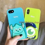 iPhone XS iPhoneXS MAX iPhone XR モンスターズインク サリー マイク ディズニー iphoneケース 携帯ケース スマホケース アイホンケース