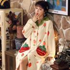 着る毛布パジャマ レディース ルームウェア前開き 部屋着 ワンピース 秋冬 大きいサイズ マタニティウェア 厚手 ふわもこ ルームウエア ネグリジェ 寝巻き可愛い