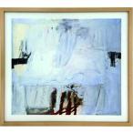 抽象画 北欧 スカンジナビアアート  4つの赤い死と青/絵画 壁掛け 壁飾り インテリア 油絵 花 アートパネル ポスター 絵 額入り リビング 玄関