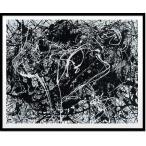 絵画・抽象画/Jackson Pollock Number 33,1949(ジャクソン・ポロック ナンバー33,1949(シルクスクリーン))
