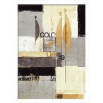 絵画・抽象画/JONAS HORST VISION I(ビジョン1)/絵画 壁掛け 壁飾り インテリア 油絵 花 アートパネル ポスター 絵 額入り リビング 玄関