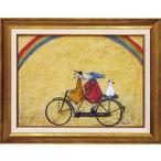 絵画/サム トフト 虹に向かって/絵画 壁掛け 壁飾り インテリア 油絵 花 アートパネル ポスター 絵 額入り リビング 玄関