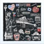 アートフレーム サインフレーム ニューヨーク/インテリア 壁掛け 額入り 油絵 ポスター アート おしゃれ