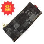 ラダイト 岡山デニム ベンディペンケース パッチワーク ジャガード織 パッチワークデニム 日本製 LDD-BNPN-101