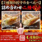 送料無料 25%OFF (2種類80個入り) 16人前 冷凍餃子 本格手造り 生餃子 詰め合わせ セット 餃子 ぎょうざ ギョーザ ギョウザ