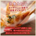 本格手造り 生餃子 (激唐生餃子10個入り)  お取り寄せ グルメ 餃子 ぎょうざ ギョーザ ギョウザ