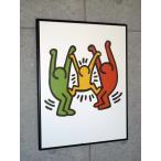 ポスター アート 額装済/50%OFF/キース ヘリング/Untitled 1985