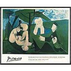Le Dejeuner sur L'herbe(パブロ ピカソ) 額装品 アルミ製ハイグレードフレーム