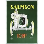 Salmson 10 HP(レナ ヴィンセント) 額装品 アルミ製ベーシックフレーム