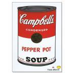 アップルコンピューター/Think different キャンベルスープ缶