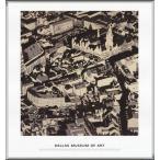 ポスター アート City Pictures Munich(ゲルハルト リヒター) 額装品 アルミ製ハイグレードフレーム