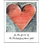 ポスター アート フィラデルフィア ハート(ジム ダイン) 額装品 アルミ製ベーシックフレーム