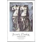ポスター アート 夜空の中のふたつのヴィーナス(ジム ダイン) 額装品 アルミ製ベーシックフレーム