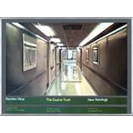 ポスター アート The Elusive Truth Hospital Corridor 限定1000枚(ダミアン ハースト) 額装品 アルミ製ベーシックフレーム