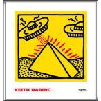 ポスター アート Untitled  1984 (pyramid with UFOs)(キース ヘリング) 額装品 アルミ製ハイグレードフレーム