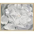 The White Calico Flower  1931(ジョージア オキーフ) 額装品 ウッドベーシックフレーム