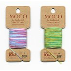 ステッチぬい糸 MOCO グラデーションカラー / メール便98円発送対象商品