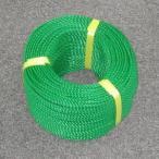 ポリロープ4ミリ(グリーン) 2mカット品