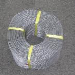 ポリロープ4ミリ(シルバーグレー) 2m カット品