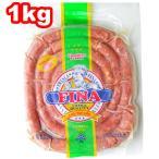 ぐるぐるソーセージ リングイッサ フレスカ フィナ 1kg BBQ 冷凍