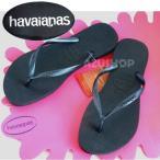 ショッピングhavaianas ハワイアナス スリム ブラック SLIM/SandGrey/havaianas/レディース/ビーチサンダル