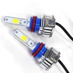 ショッピングLED LEDヘッドライト H11(H16) 3000K/6000K オールインワン一体型 2000lm 2面COB 12V/24V E802