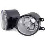 トヨタ車用 ガラス フォグランプ ユニット HID化に 純正同形状 H8 H11 H16 バルブ ガラスレンズ