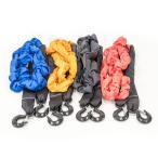 牽引ロープ 最大荷重14t 伸張時/収縮時 :460cm/340cm 色選択/ブラック/オレンジ/レッド/ブルー (送料無料)