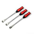 Yahoo!AZZURRI SHOPPINGバイク タイヤレバー 3本セット/グリップ付 バイクのタイヤ交換に