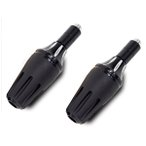 マフラー エンジンガード スライダー プロテクター ブラック バイク/汎用