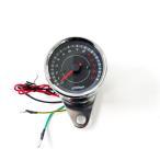バイク用 LEDタコメーター 電気式/汎用 オートバイ メーター 13000回転 12V