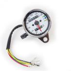 バイク用 スピードメーター 汎用 160km表示 インジケーター付き ニュートラル/ハイビーム/ウインカー
