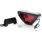 汎用 LEDバックフォグ ランプ センターリアライト F-1 ブレーキ連動/点滅/ストロボ 12連