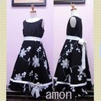 こどもドレス  送料無料  女児 黒 『マリ』 ノースリブ ワンピース □ 120cm(120/130/140/150)  ◆ 結婚式・七五三