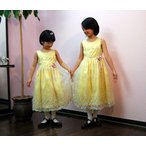 こどもドレス Amon! ((フリージア))120cm♪(100cm?150cmまであり)結婚式・発表会・七五三