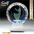 ゴルフトロフィー ホールインワン 記念品 トロフィー エージショート ゴルフ