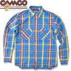 CAMCO【カムコ】 フランネルシャツ  カムコ ネルシャツCAMCO ヘビーウェイト フランネルシャツ ワークシャツ ブルー