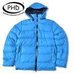 PH designs [PHデザイン] DELTA HOODED JACKET デルタ フーデッド ジャケット TURQUOISE ダウンジャケット ピーターハッチンソン  P.H.DESIGNS PHD