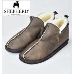 SHEPHERD  シェパード シープスキンムートンシューズ NOAH ムートンブーツ SHEEP SKIN SHOES  ANTIQUE ブラウン メンズ